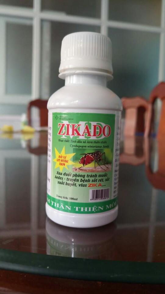 Tinh Dầu sả Zikado